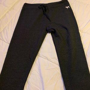 Fleece lined PINK sweat pants